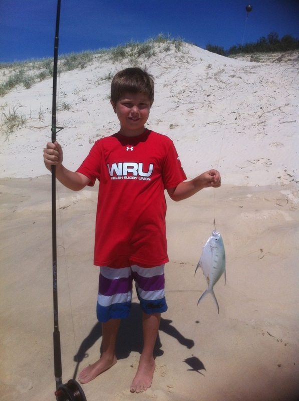 Fishing trips on Straddie